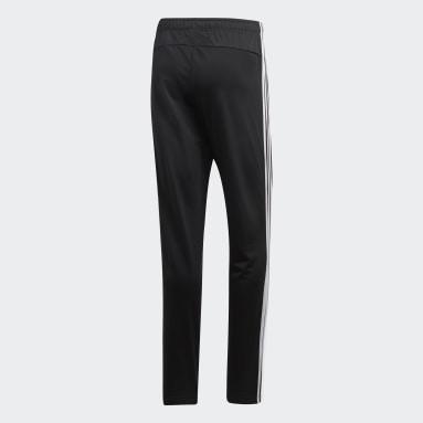 Men's Essentials Black Essentials 3-Stripes Tapered Pants
