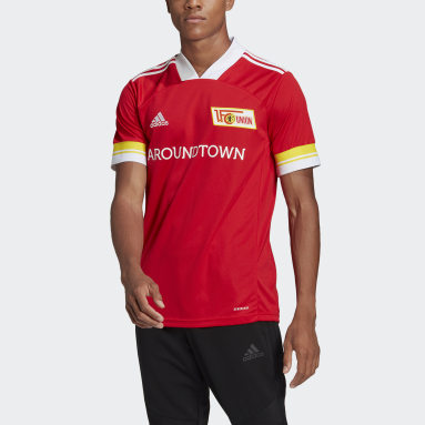 Maillot 1. FC Union Berlin 20/21 Domicile Rouge Hommes Football