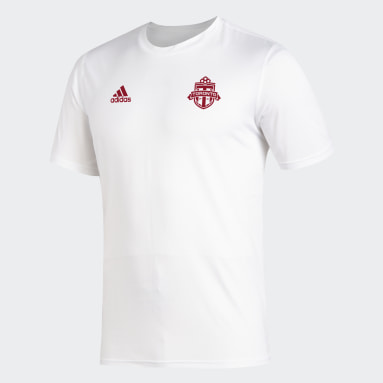 Men Soccer White Toronto FC Creator Tee