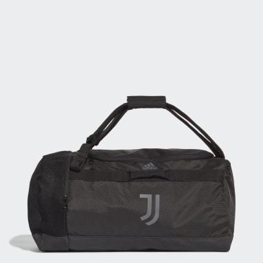 Football Black Juventus Duffel Bag Medium