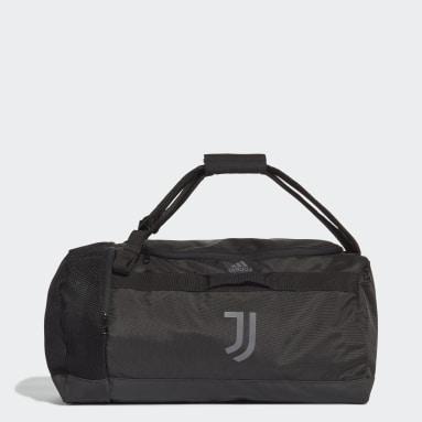 Fodbold Sort Juventus sportstaske, medium