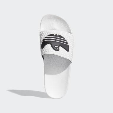 Originals White Shmoofoil Slides