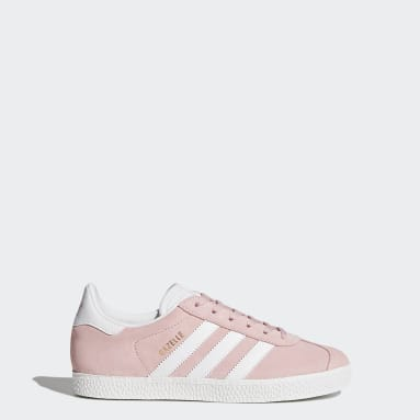Youth Originals Pink Gazelle Shoes