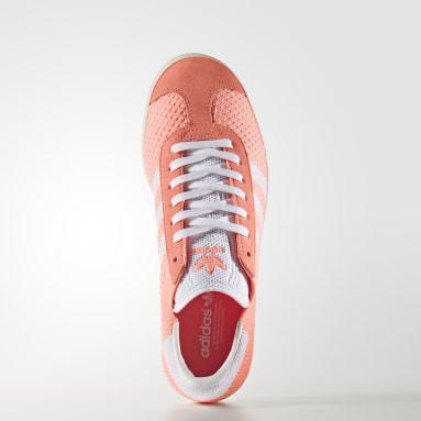 Calzado Gazelle Primeknit Naranja Mujer Originals