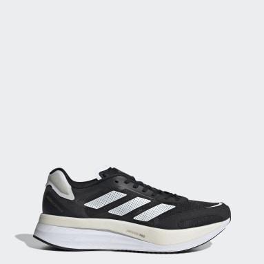 ผู้ชาย วิ่ง สีดำ รองเท้า Adizero Boston 10