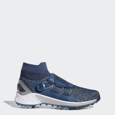 Men's Golf Blue ZG21 Motion Primegreen BOA Mid Golf Shoes