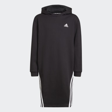 Abito Primegreen Future Icons 3-Stripes Hooded Nero Bambini Sportswear