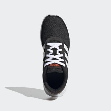 Kids Sport Inspired Black Lite Racer 2.0 Shoes