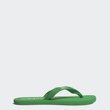 ผู้ชาย ว่ายน้ำ สีเขียว รองเท้าแตะ Eezay
