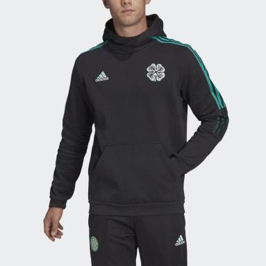 Men Football Black Celtic FC Tiro Hoodie