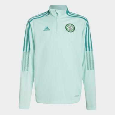 Barn Fotboll Turkos Celtic FC Tiro Warm Top