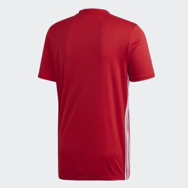Men Football Red Aberdeen FC Home Jersey