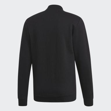 Männer Sportswear Commercial Bomberjacke Schwarz