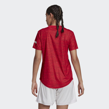 Jersey Local Manchester United 20/21 Oficial Rojo Mujer Fútbol
