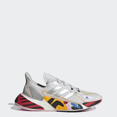 Women Running White X9000L4 HEAT.RDY Shoes