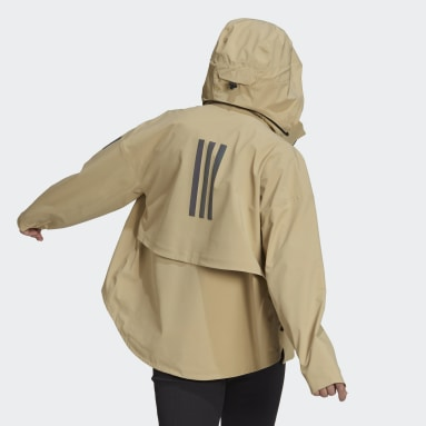 Chaqueta impermeable MYSHELTER Beige Mujer Outdoor Urbano