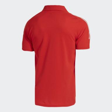 Camisa Polo Internacional Vermelho Homem Futebol
