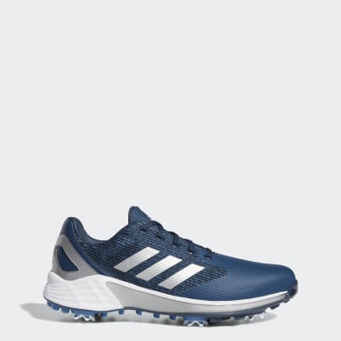 Men Golf Blue ZG21 Motion Recycled Polyester Golf Shoes