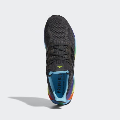 Men Running Grey Ultraboost 5.0 DNA Shoes