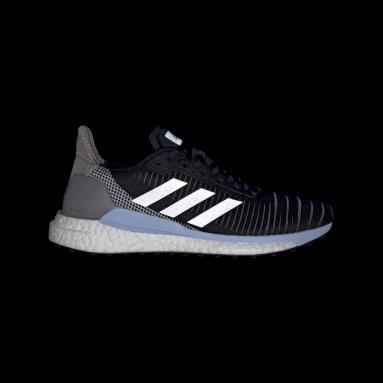 Women's Running Black Solar Glide 19 Shoes