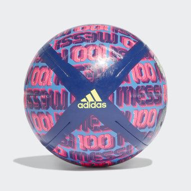 ฟุตบอล สีน้ำเงิน ลูกฟุตบอล Messi Club