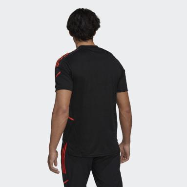 Men Rugby Black All Blacks Rugby Performance T-Shirt Primeblue