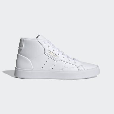 Zapatilla adidas Sleek Mid Blanco Mujer Originals