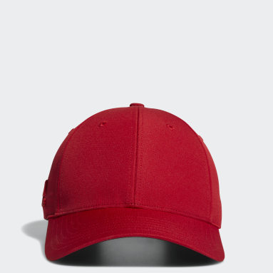 Crestable Performance Hat Czerwony