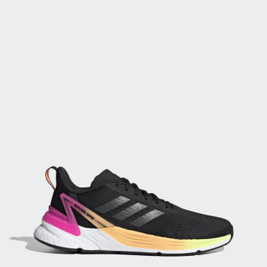 Women Running Black Response Super Shoes