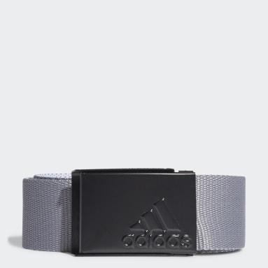 Men's Golf Grey Reversible Web Belt