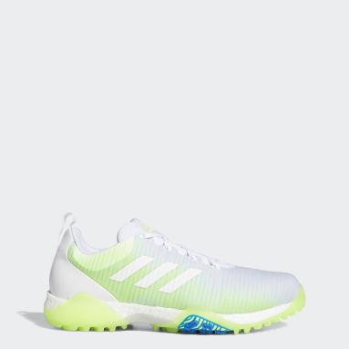 Men Golf White CodeChaos Golf Shoes