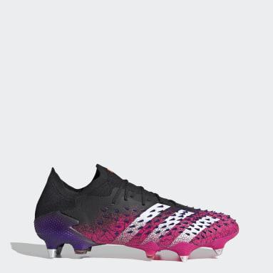 Fotboll Svart Predator Freak.1 Soft Ground Boots