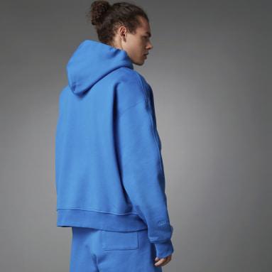 синий Худи Blue Version Essentials