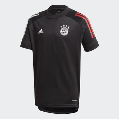 Camiseta entrenamiento FC Bayern Negro Niño Fútbol