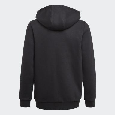 Veste à capuche Essentials3-Stripes Noir Garçons Sportswear
