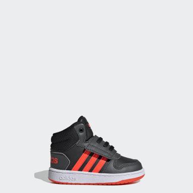 Chaussure Hoops2.0 Mid Noir Enfants Basketball
