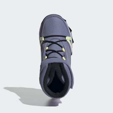 Kids TERREX Purple TERREX Snow CF CP CW Shoes