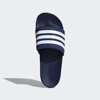 Plavání modrá Pantofle Adilette Comfort
