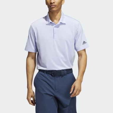 Heren Golf Paars Ultimate365 Solid Poloshirt