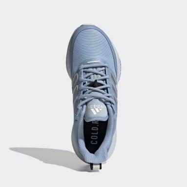 Kvinder Løb Blå EQ21 RUN COLD.RDY