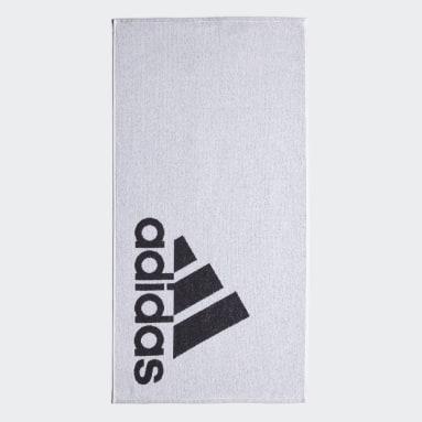 Swimming White adidas Towel Small