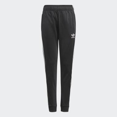 Kids Originals Black Adicolor SST Track Pants