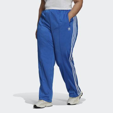Women Originals Blue Adicolor Classics Firebird Primeblue Track Pants (Plus Size)
