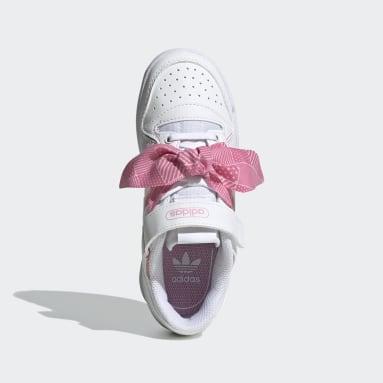 Çocuklar Originals Beyaz Forum Low Ayakkabı