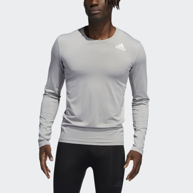Techfit Compression Long Sleeve Tee Szary
