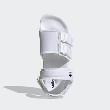 Männer Originals New adilette Sandale Weiß