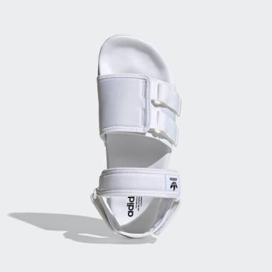 Sandali New adilette Bianco Uomo Originals