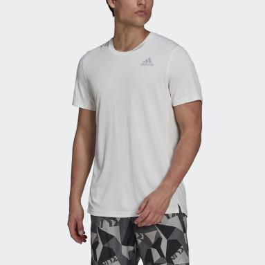 Men's Running White adidas HEAT.RDY Running Tee