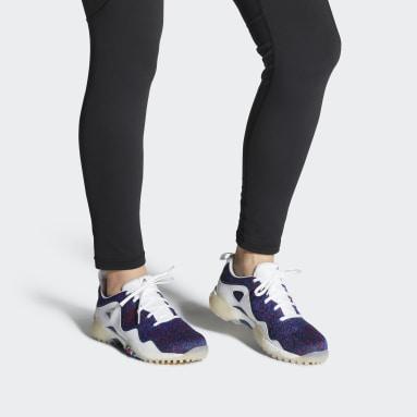 Women Golf White CodeChaos 21 Primeblue Spikeless Golf Shoes