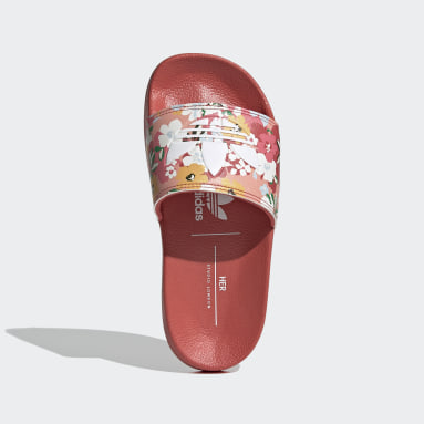 Děti Originals růžová Pantofle adilette Lite